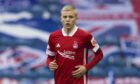 Ryan Duncan, who made his Aberdeen debut at Ibrox, has moved on loan to Peterhead until January.