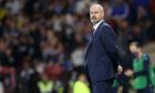 Scotland head coach Steve Clarke during the 1-0 World Cup qualifier defeat of Moldova.