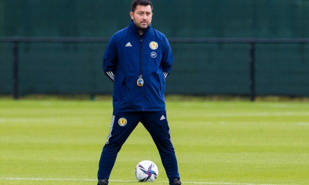 New Scotland head coach Pedro Martinez Losa.