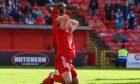 Aberdeen striker Christian Ramirez looks dejected after missing a chance on against St Johnstone.