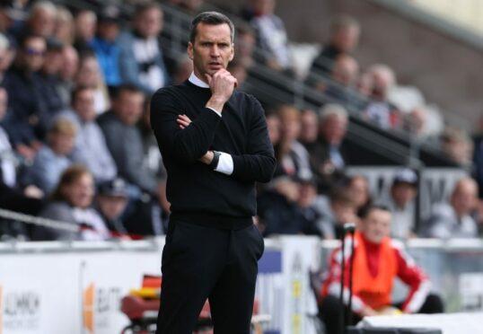 Plenty to ponder for Aberdeen manager Stephen Glass.