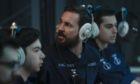 Martin Compston as sailor Craig Burke in BBC submarine drama Vigil. BBC/World Productions