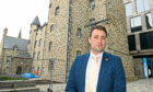 Cllr Michael Hutchison is concerned the latest works to Provost Skene's House have left some of the historic brickwork hidden by overuse of cement.