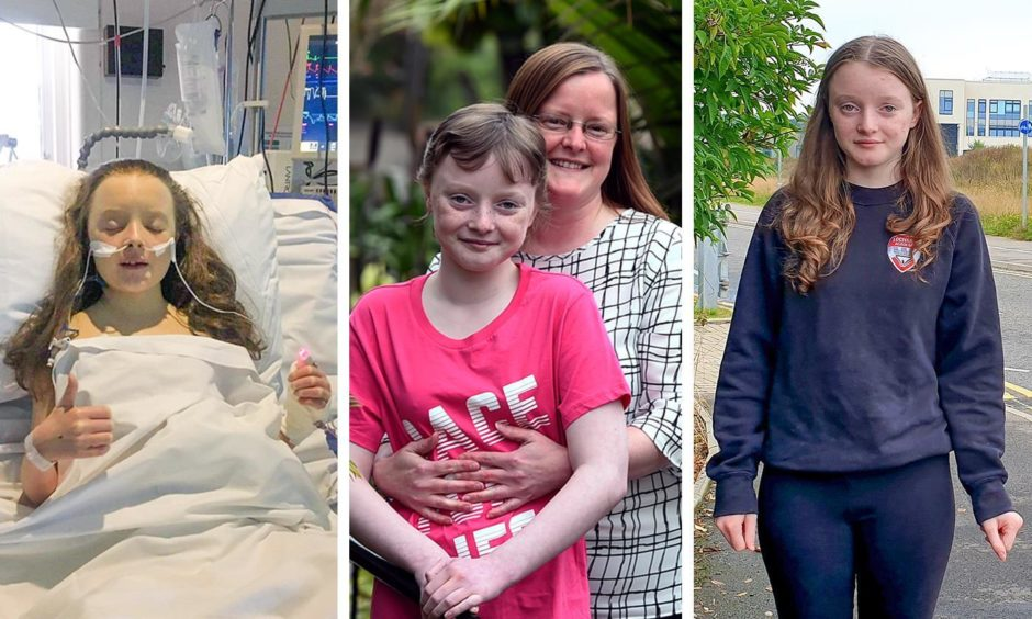 Amy was diagnosed with Non Hodgkin Lymphoma. Picture in hospital, before the 2019 Race For Life, and raising awareness for Cancer Research UK.