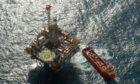 Apache North Sea's Forties Delta platform