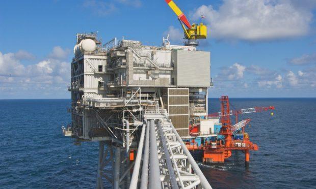 Harbour Energy's Britannia platform.