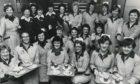 The smart restaurant staff of British Home Stores in Aberdeen in 1980.