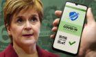 Nicola Sturgeon has announced vaccine passports in Scotland