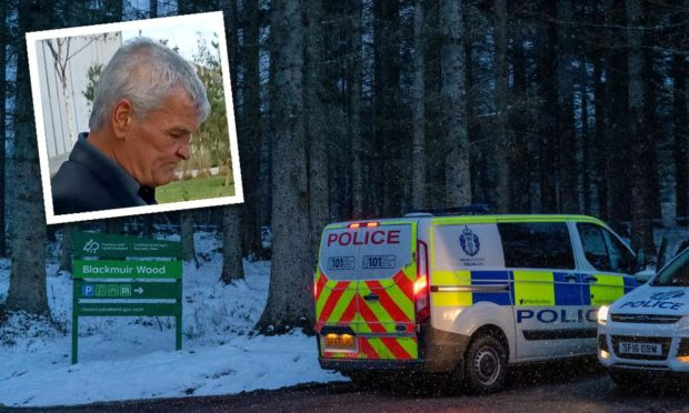 Donald Macleod claimed to have murdered someone at Blackmuir Wood