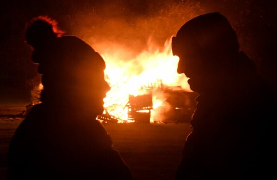 Bonfire events in Elgin and Forres have been cancelled for the second year. Photo: Chris Sumner/DCT Media