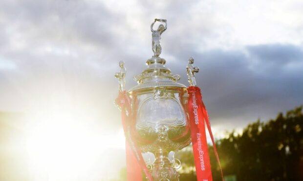Banks o' Dee and Formartine United will be competing for the historic Evening Express Aberdeenshire Cup trophy