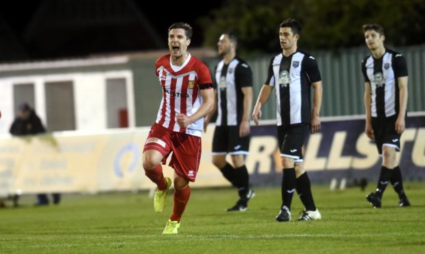 Graeme Rodger opened the scoring for Formartine United.
