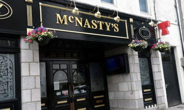 McNasty's on Summer Street, Aberdeen.