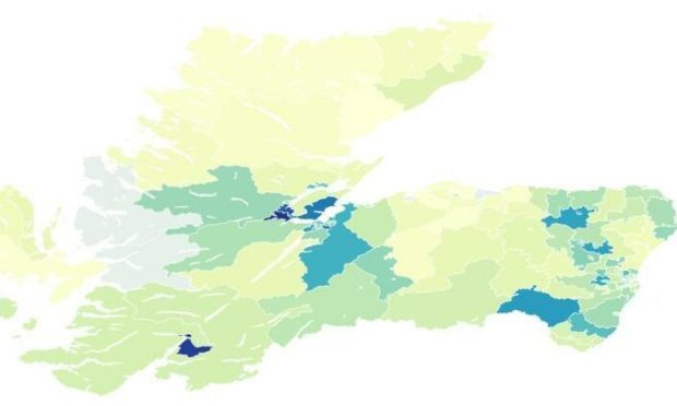 Covid-19 cases are on the rise again in the north and north-east.