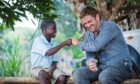 Gerard Butler is a long-time supporter of Mary's Meals