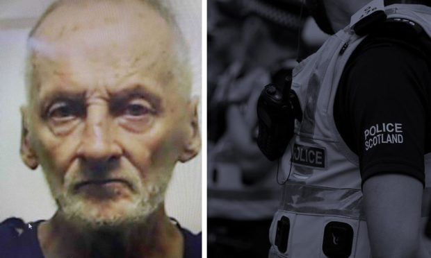 Police issued an appeal for Graham McCausland, who was last seen in Elgin on September 7.