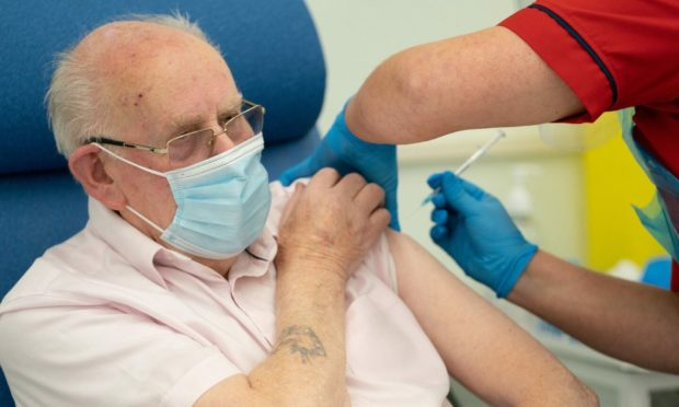People in care homes to be offered third jab. Picture by Dan Charity/The Sun/PA Wire.