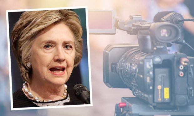 Anne Mulloy, from Fraserburgh, is accused of scamming £85,000 by claiming she was making a documentary about Hillary Clinton.
