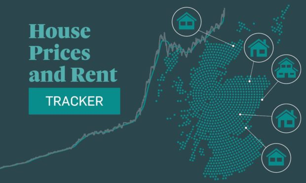 To help track how much an average home might cost you across Scotland either in rent or purchase price, we've put together a price tracker to take some of the stress off.