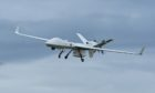 The new Protector drone has been running test flights at RAF Lossiemouth. Photo: Jason Hedges/DCT Media