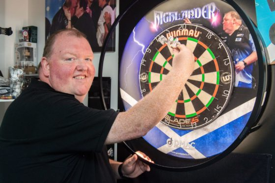 World Cup winner John Henderson is back in action in the Gibraltar Darts Trophy.