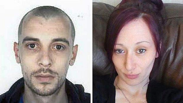 John Yuill, 28, and Lamara Bell, 25, who died after their car crashed off the M9 near Stirling in July 2015.