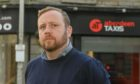 CR0030539 Chris Douglas, co-owner of Aberdeen Taxis has highlighted an urgent shortage of taxi drivers. He says the city has lost alomst 60% of its drivers during the pandemic (down to 500 from around 1,200) - and half of the remaining drivers are over 60. Believes Aberdeen has the strictest training requirements for taxi drivers in the UK  Picture by Kenny Elrick     01/09/2021