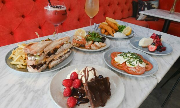 A selection of dishes from Cognito on the Corner.