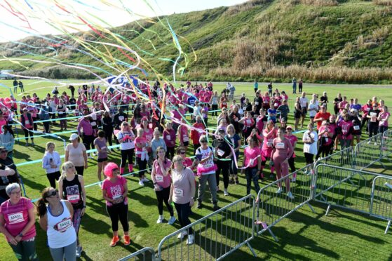Hundreds took part as Race For Life returned to Aberdeen