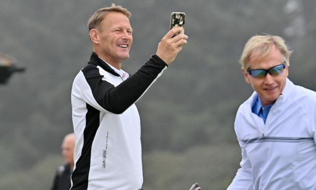 Teddy Sheringham at Royal Aberdeen. Pictures by Kath Flannery