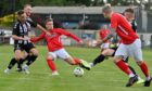 Beith's Calum Watt and Culter's Willie Mathers compete. Picture by Kath Flannery