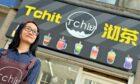 Han Wu is the owner of TCHIT, a bubble tea shop in King Street, Aberdeen.