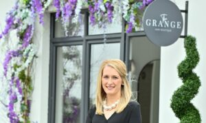 Siobhan Shand launched her own salon in July.