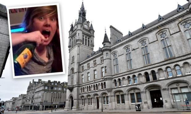 Leeanne Hadden struck her then-girlfriend with a bottle of Buckfast