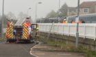 Fire on Caledonian Sleeper train at Cupar railway station has disrupted the Aberdeen to Edinburgh railway line