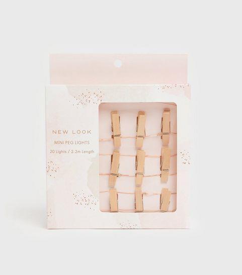 New Look – Mini Peg Lights £4.99
