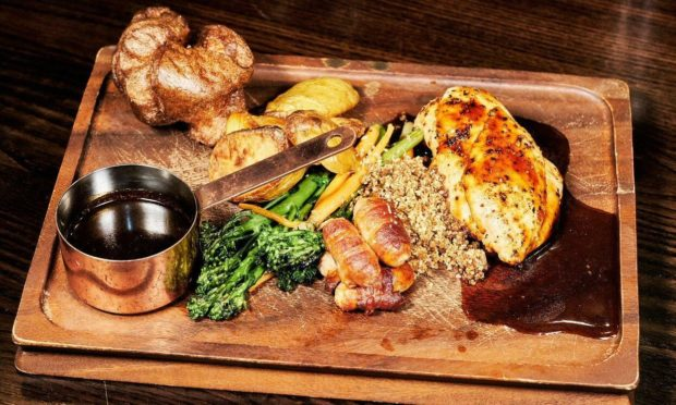 No.10 Bar & Restaurant's Sunday roast.