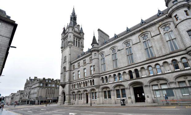 Aberdeen Sheriff Court building