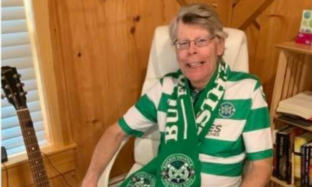 Stephen King's association with Buckie Thistle has grown. Photo: Buckie Thistle