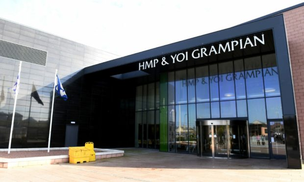 The drugs were discovered at HMP Grampian