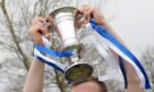 The Highland League Cup trophy