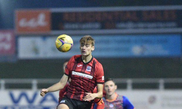 Joel Macbeath has joined Huntly on loan from Elgin