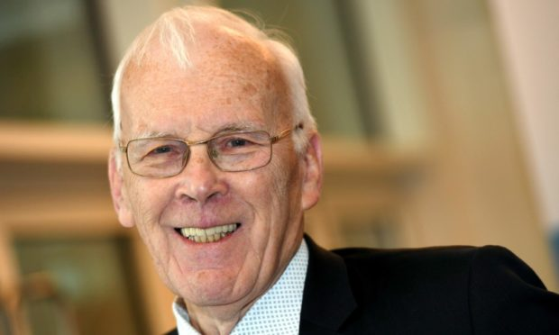 """Sir Ian Wood believes cutting back in oil and gas will result in a """"huge loss of jobs""""."""