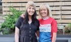 Jenny Noble (right) will embark on a 'mad' 24-hour cycle to raise funds for the Teenage Cancer Trust, who have supported niece Lucy Summers (left) since she was diagnosed with Hodgkin Lymphoma in April.
