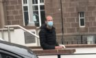 Rory Kerr appeared at Peterhead Sheriff Court
