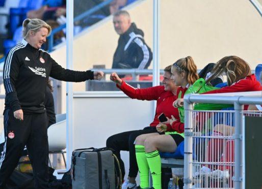 Aberdeen Women boss, Emma Hunter   Picture by Scott Baxter 08/08/2021