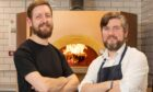 Co owners Jamie Thom and Mike Gaffney of The Gaff in Ellon.  Picture by Scott Baxter.