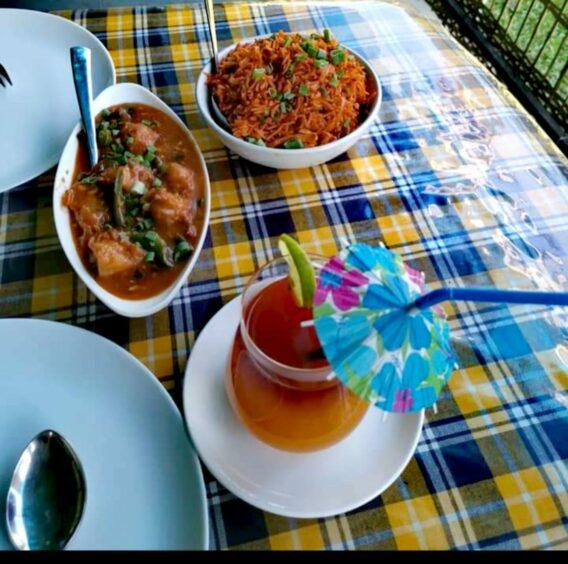 Homemade food and drink by Savina Raicar.