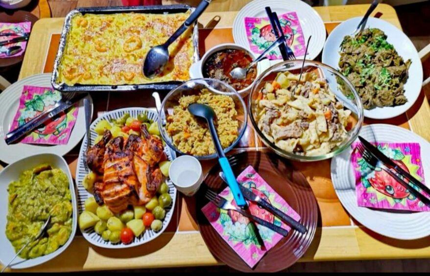 Home cooking by Savina Raicar.