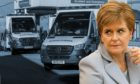 Nicola Sturgeon was asked to explain long waits for emergency help